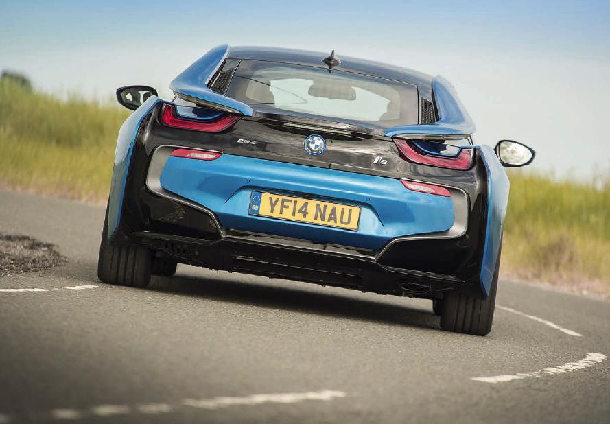 BMW i8 UK-spec road test