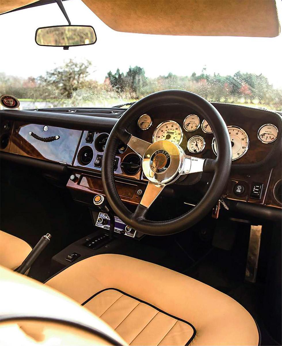 Bristol 411 - road test