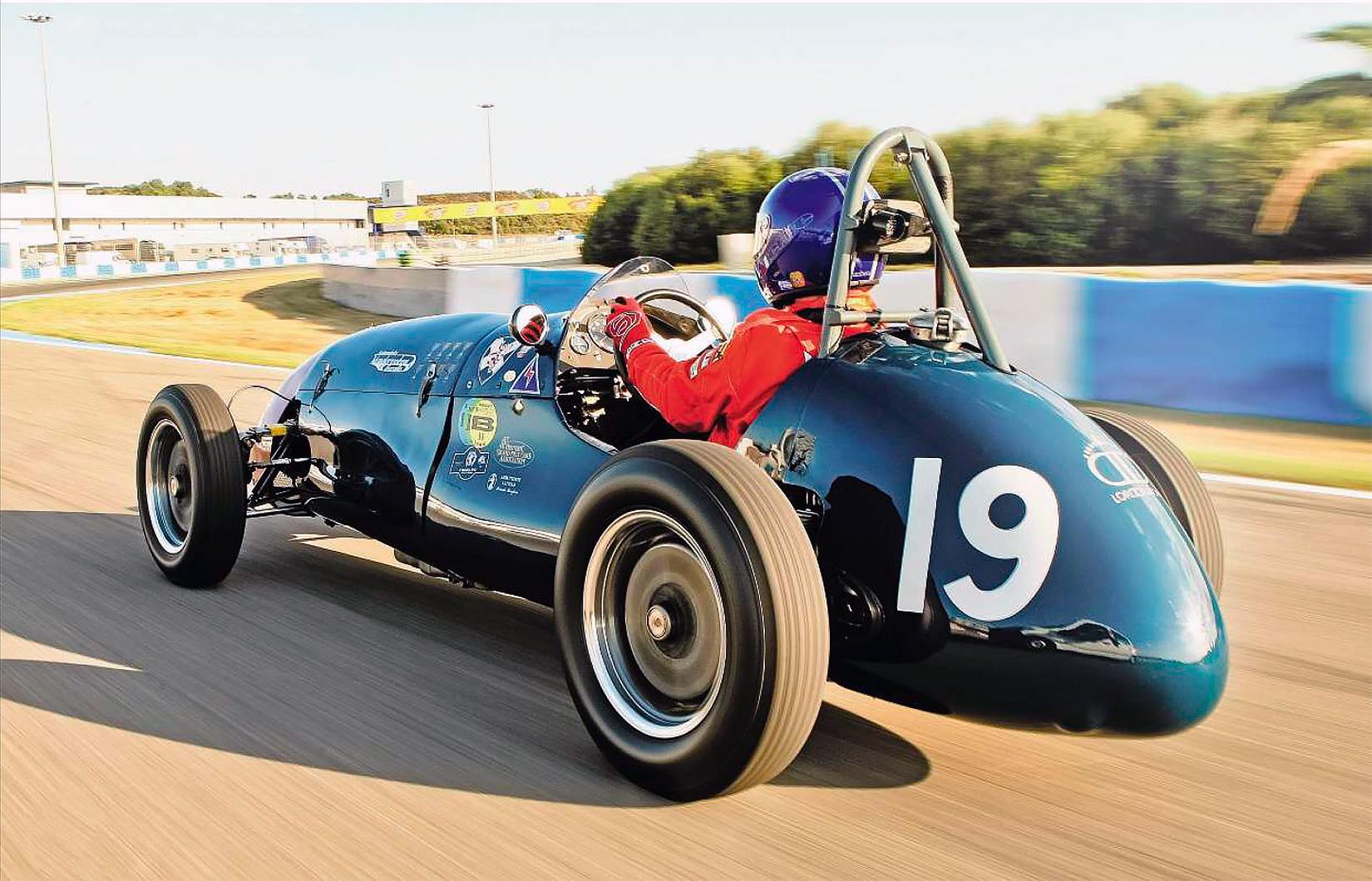Cooper Bristol MkII 3/53 - driven