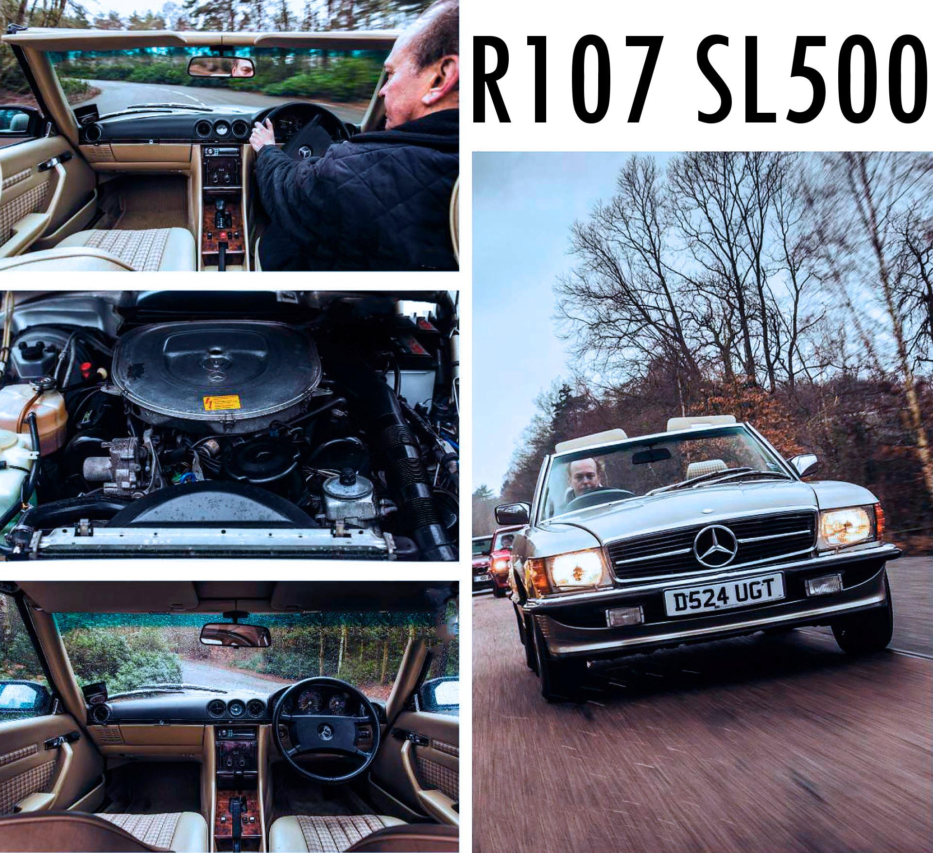 Mercedes-Benz 500SL R107 road test