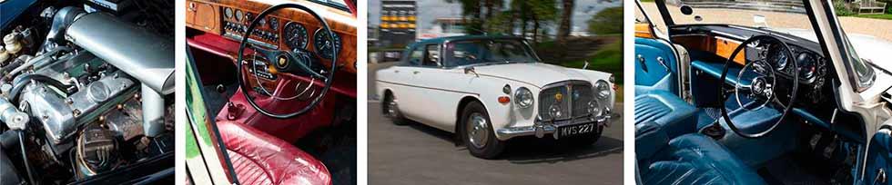 Jaguar S-type VS. Rover P5 Coupe