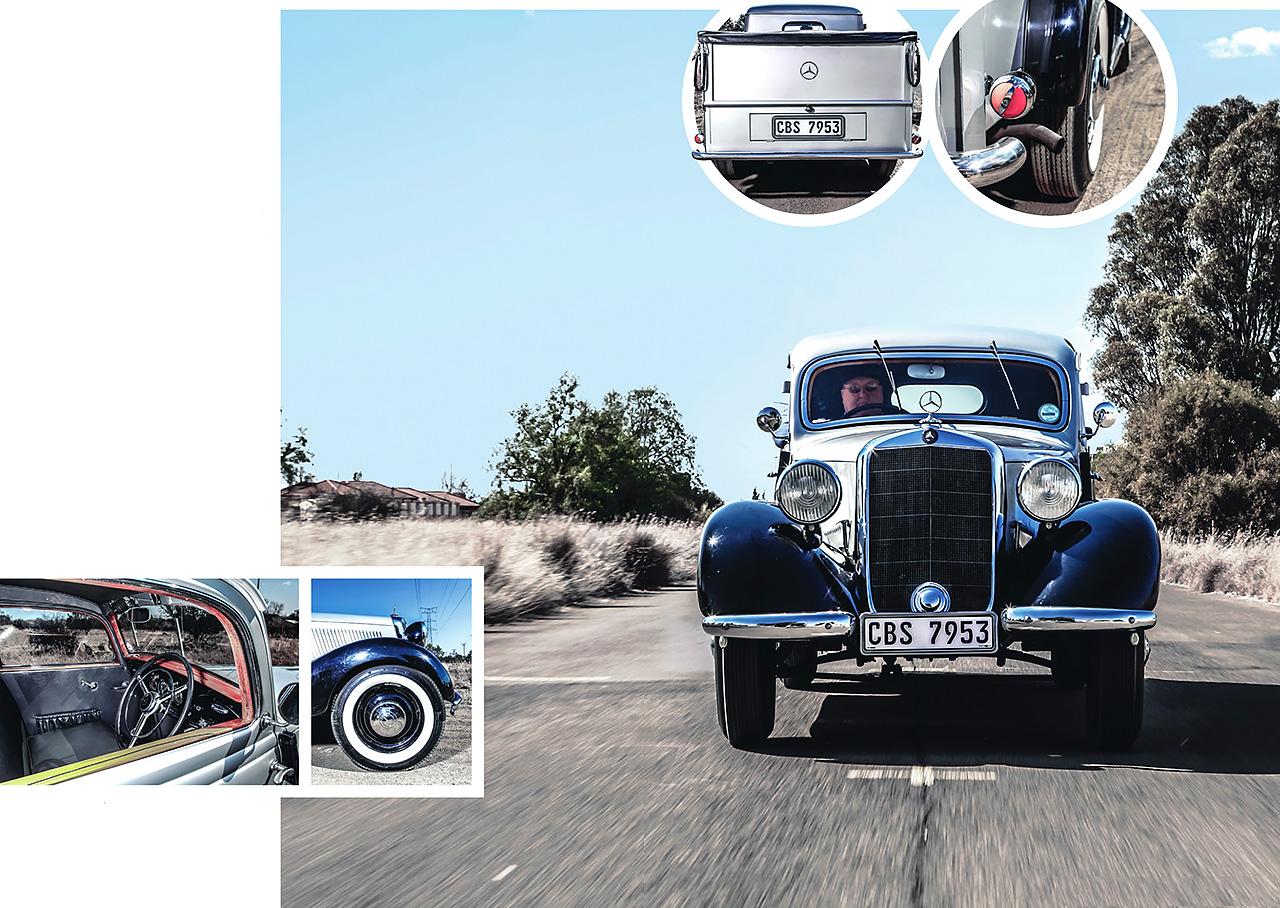 1951 Mercedes-Benz 170Da pickup W136 road test