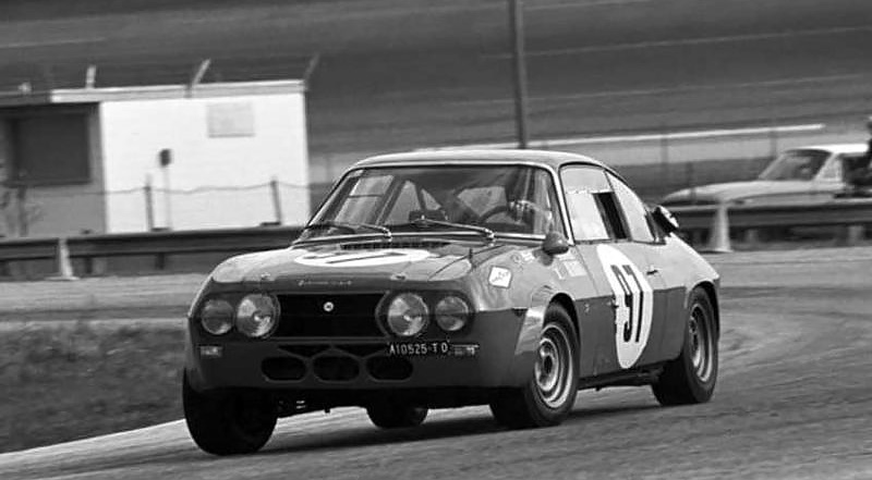 Maglioli and Pinto head for a class victory at Sebring in 1969