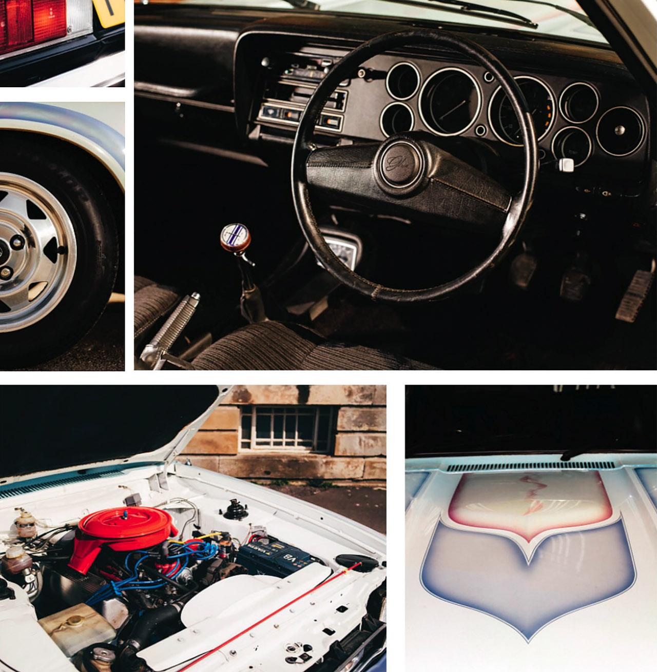 5-litre V8-engined Ford Capri Boss 302