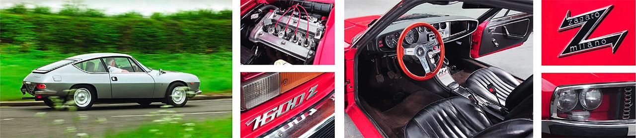Lancia Fulvia Sport and Alfa-Romeo Junior Zagato