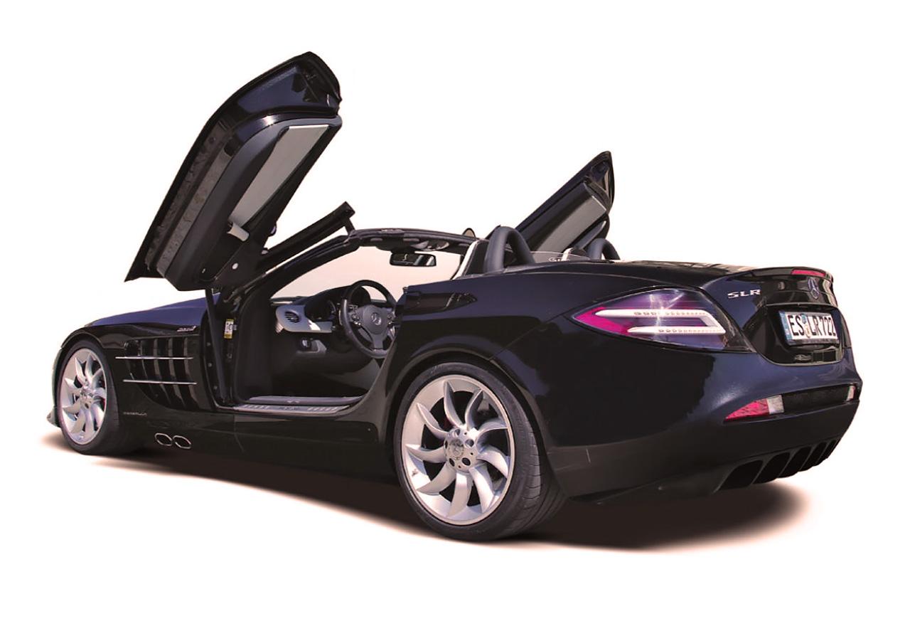 Mercedes-Benz SLR McLaren Gemballa Roadster GT R199 - driven