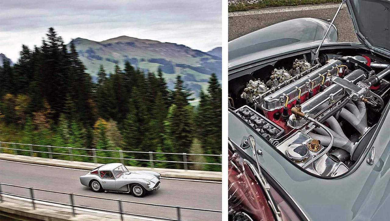 Aston Martin DB3S Coupe - drive