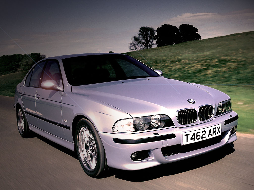 BMW E39 M5 - first series 1998 Geneva Motor Show