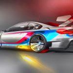 BMW's stunning M6 GT3 race car