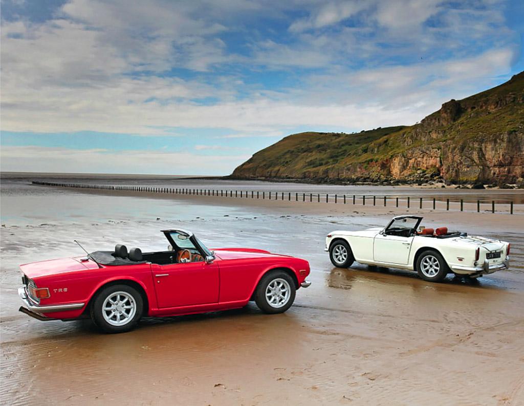 Triumph TR5 and TR6