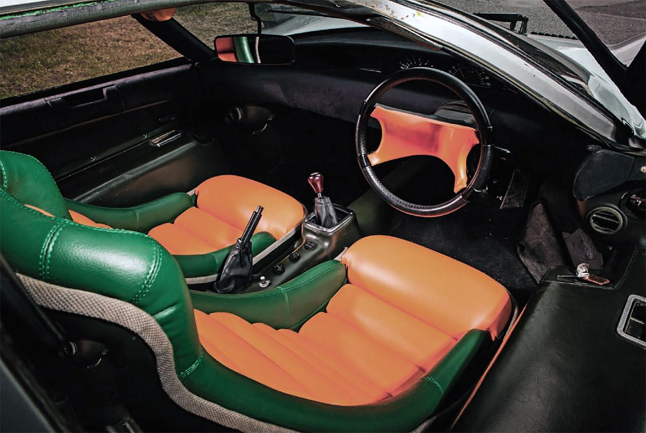Mazda RX-500 - interior