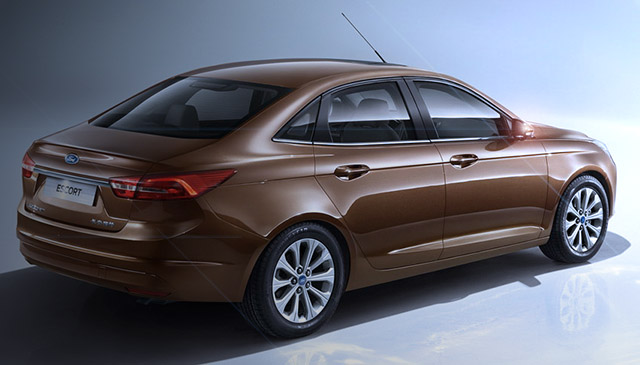 Ford Escort 2015 - из Китая