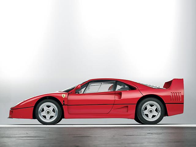 Красавец и чудовище Ferrari F40