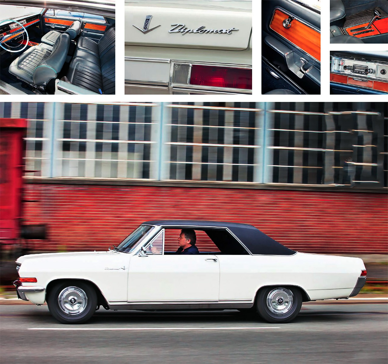 Diplomat A Coupe - road drive