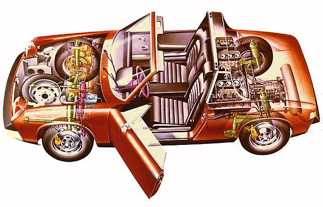 Porsche 914 engine