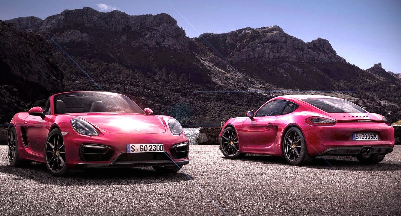 Porsche – 2015 Boxster and 2015 Cayman GTS