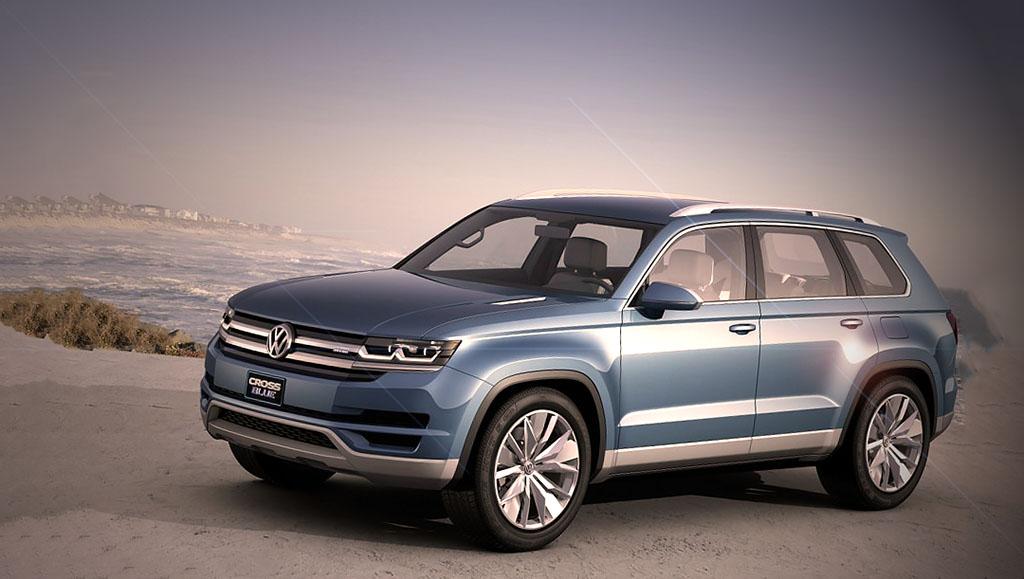 Volkswagen CrossBlue Crossover