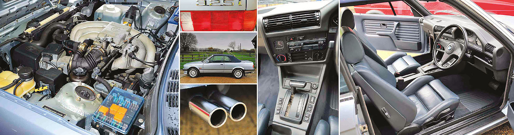 BMW 325i E30 Cabrio - road test