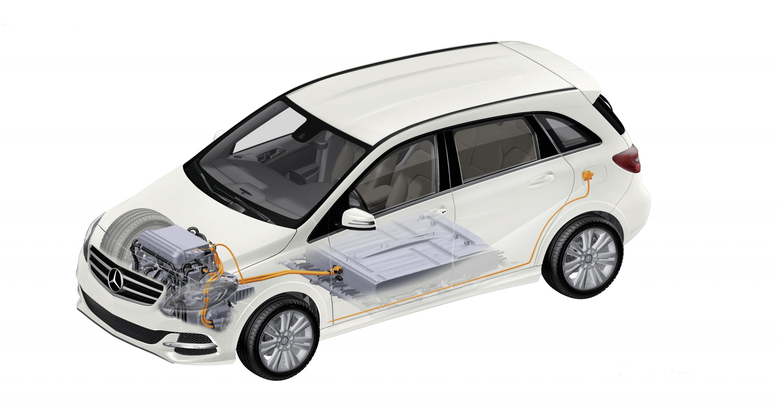 New Mercedes-Benz B-Class Electric Drive - 2015