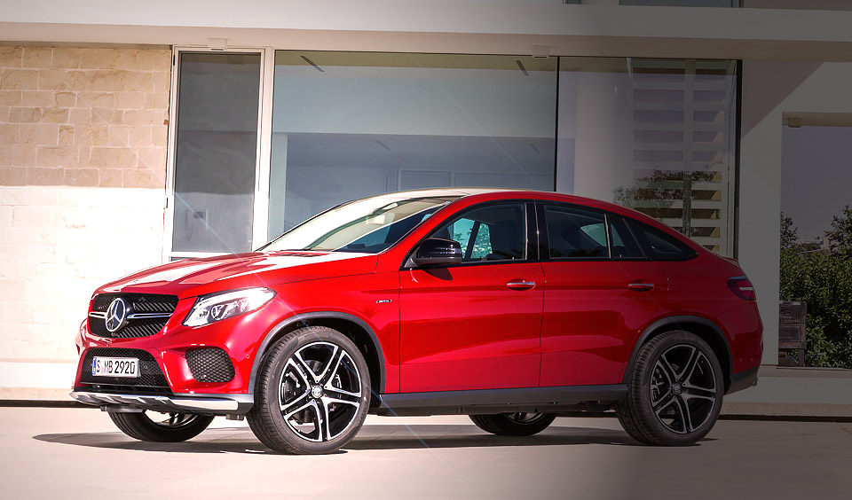 GLE450 AMG - Mercedes-Benz GLE Coupe - 2015