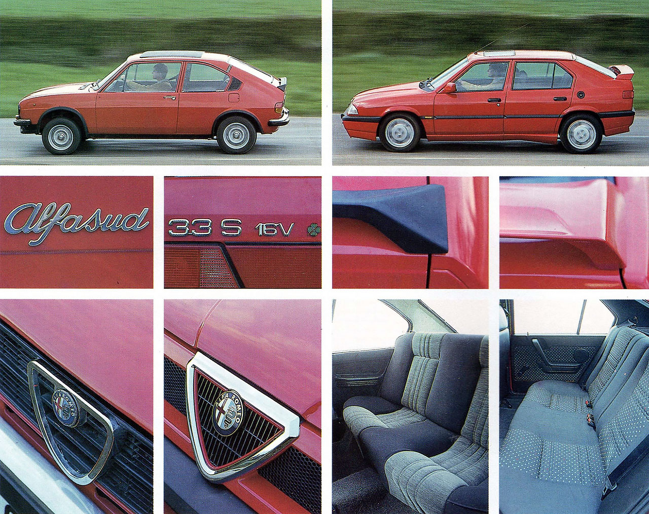 1971 Alfasud 1.5Ti vs. 1991 Alfa Romeo 33 Permanent 4