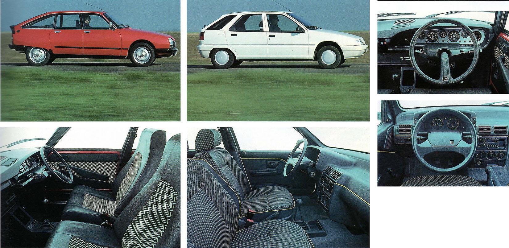 1971 Citroen GS X3 vs. 1991 Citroen ZX Reflex