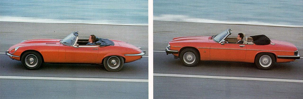 1971 Jaguar E-type V12 vs. 1991 Jaguar XJS V12