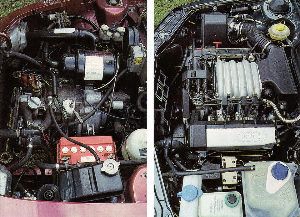 1971 NSU Ro80 vs. 1991 Audi 100 V6 Quattro