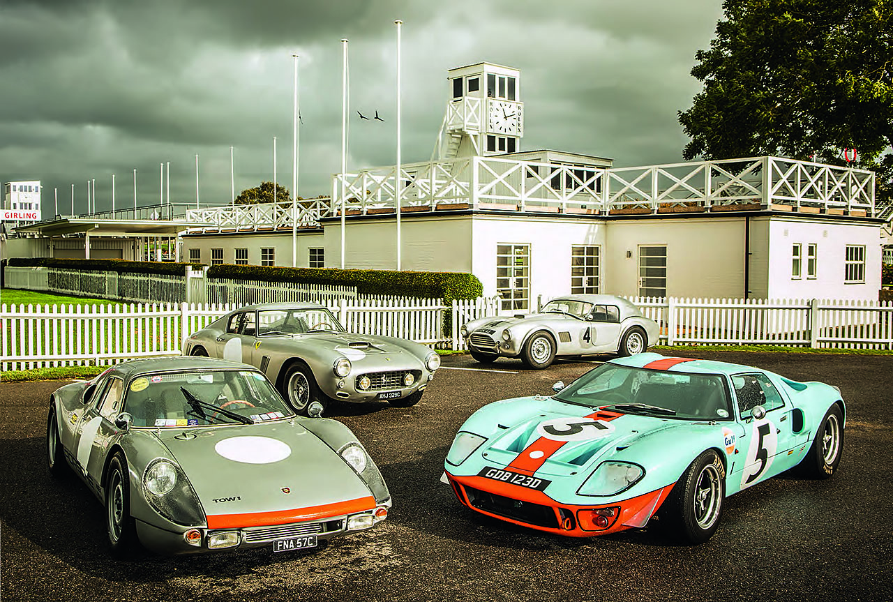 Replicas tested - Hawk 289 Le Mans vs. Southern GT GT40, Ferrari 250GT SWB and Martin & Walker 904