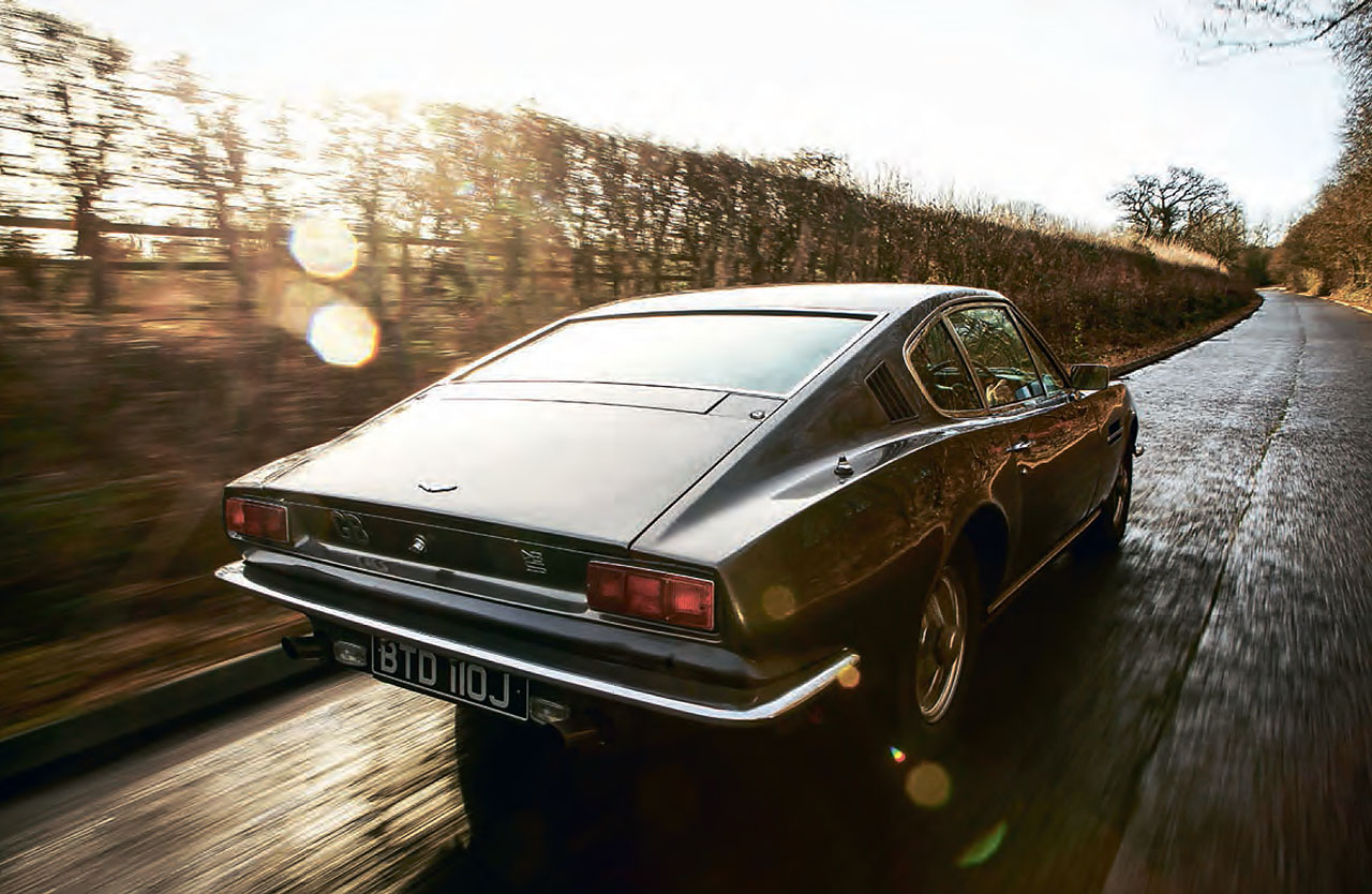 Aston Martin DBS - six-cylinder