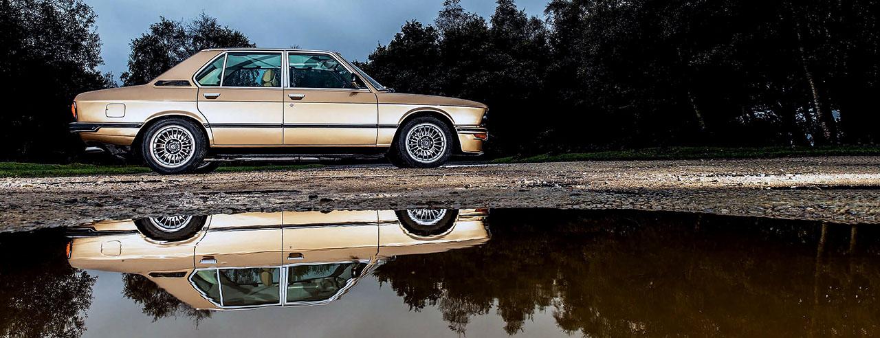 BMW E12 M535i - driven
