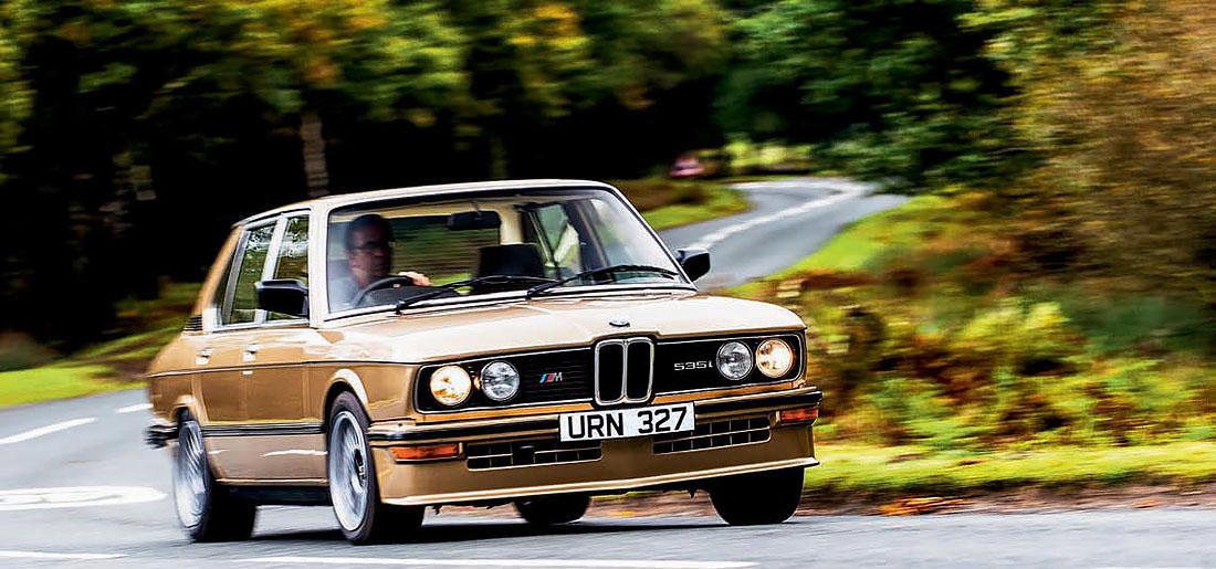 BMW M535i's E12 - driven