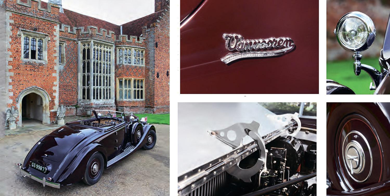 Rolls-Royce Phantom III V12 Vanvooren Cabriolet