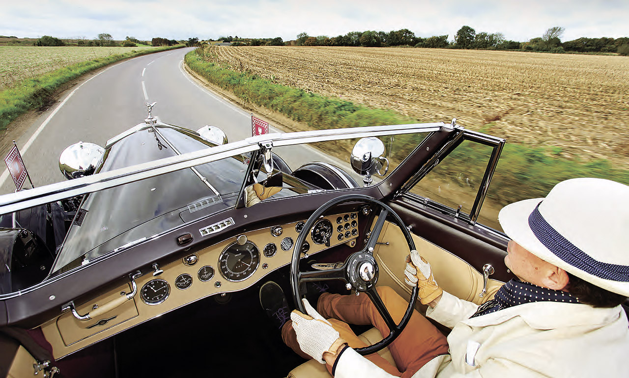 Rolls-Royce Phantom III V12 Vanvooren Cabriolet driven