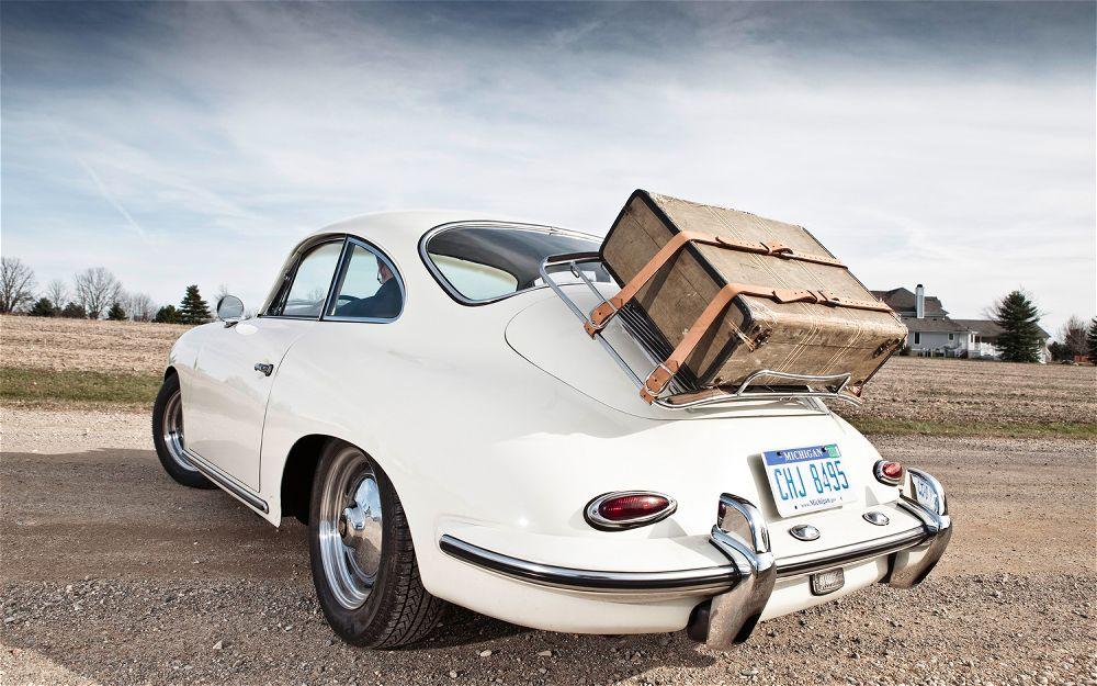1960 Porsche 356 Super 75 - road test