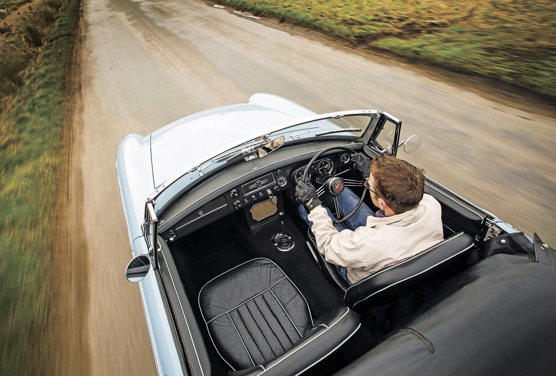 1964 MGB road test