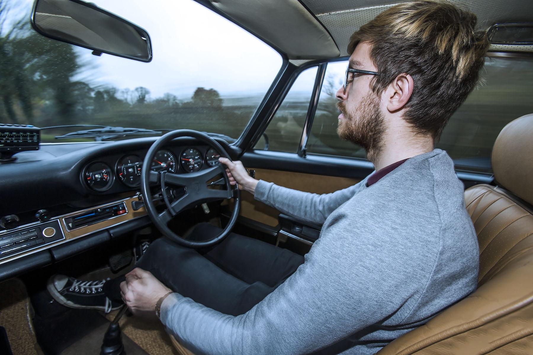 1968 Porsche 911E Sportomatic - road test