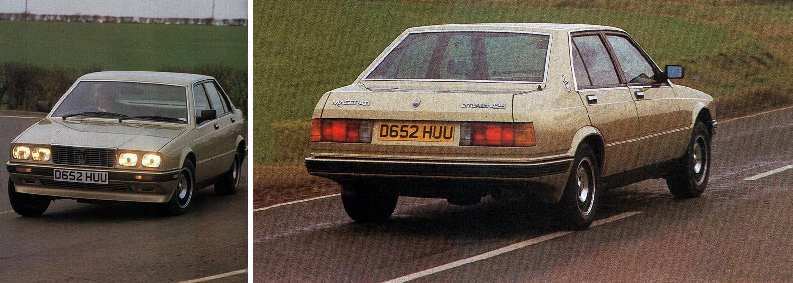 1987 Maserati Biturbo 425 - road test