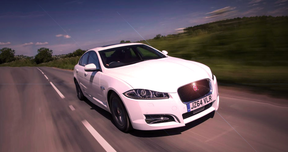 Jaguar launch 2015 XF and R-Sport Black version