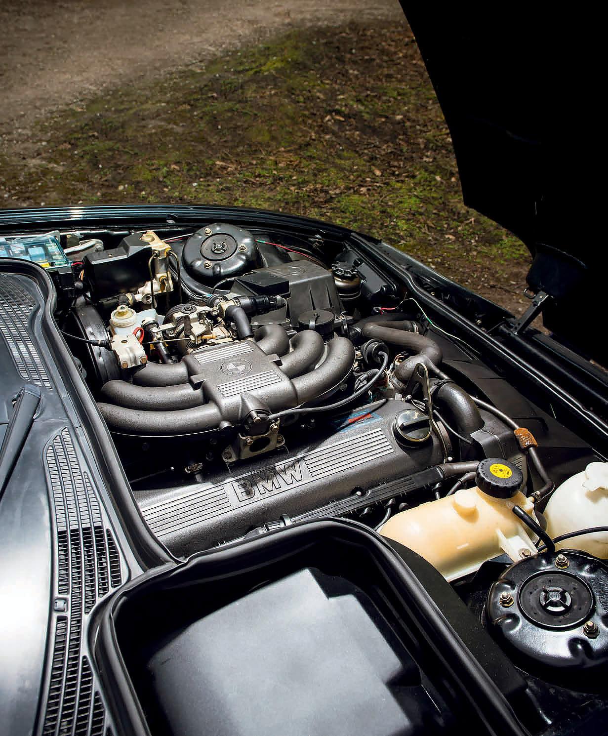 BMW Z1 Alpina RLE engine