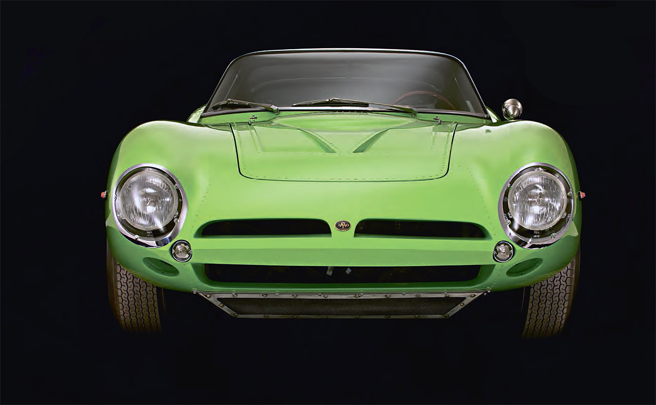 Iso A3/C Bizzarrini's road-racer