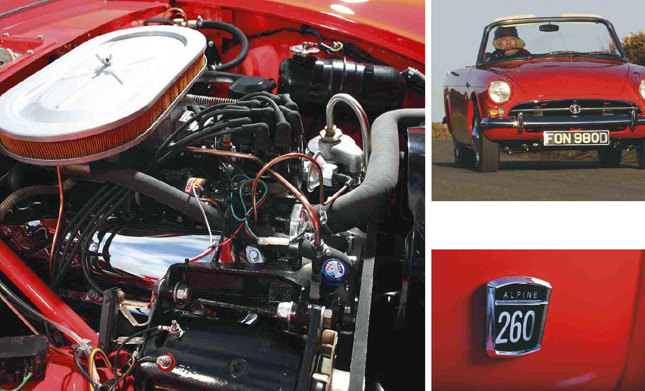 1966 Sunbeam Tiger 260