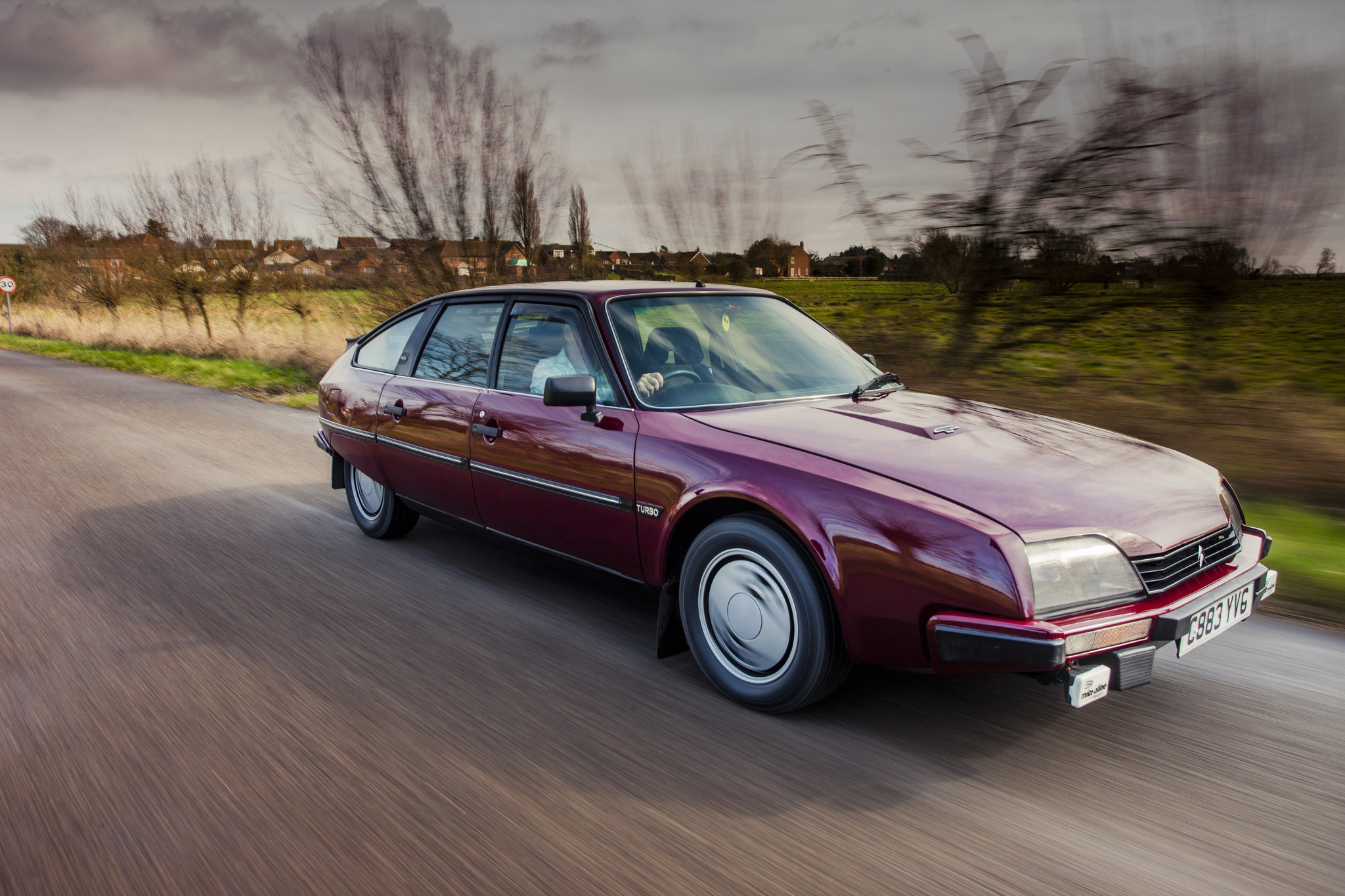 1984 Citroen CX GTi Turbo series 1 road-test drive
