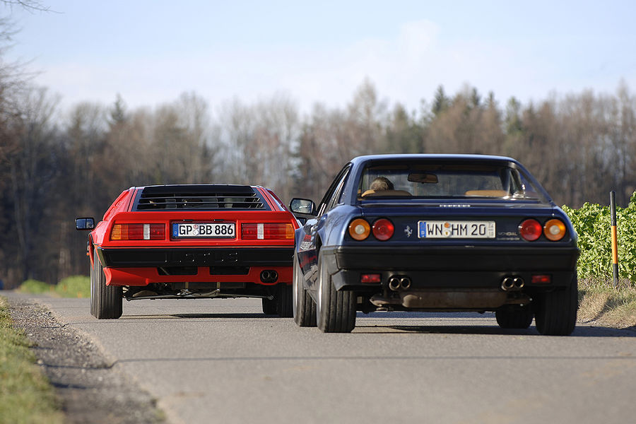 Ferrari Mondial 3.2 QV vs. Lotus Esprit Turbo