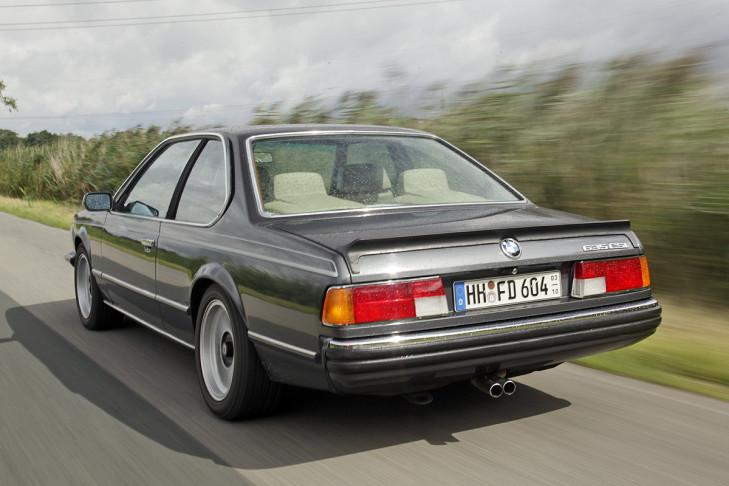 1988 BMW 635CSi Automatic E24 - driven