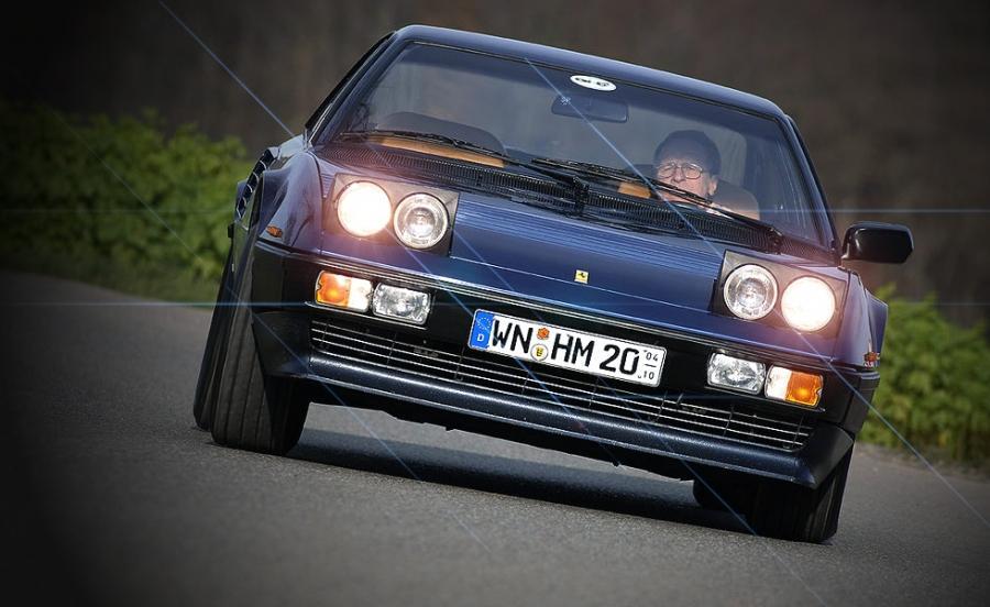 1986 Ferrari Mondial 3.2 QV - driven