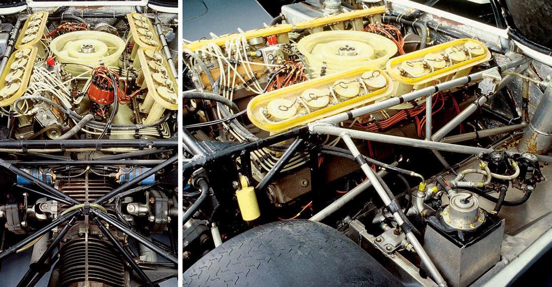 16-cylinder Porsche-engine