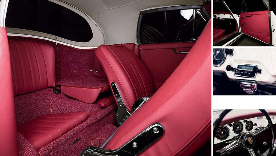 1961 Porsche 356B Cabriolet - interior