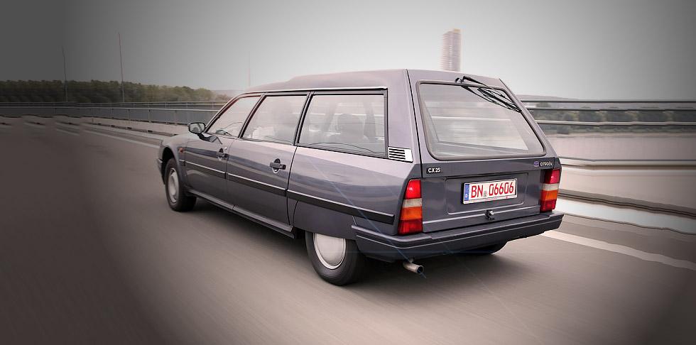 1986 Citroen CX 25 Ri Familiale Automatic- road test