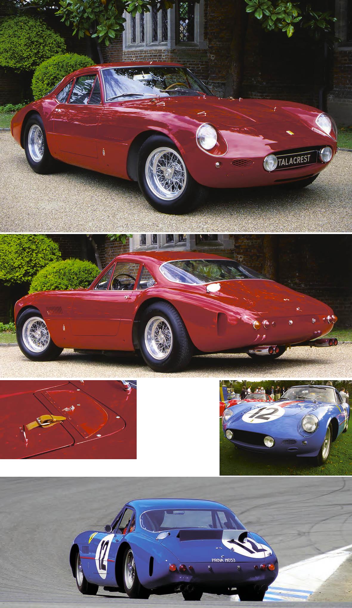 Ferrari 250 GTO - track drive